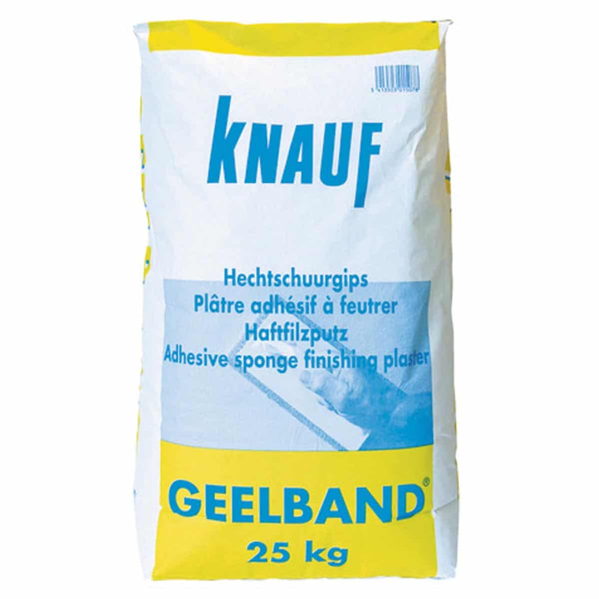 Knauf Geelband Gipspleister 25kg