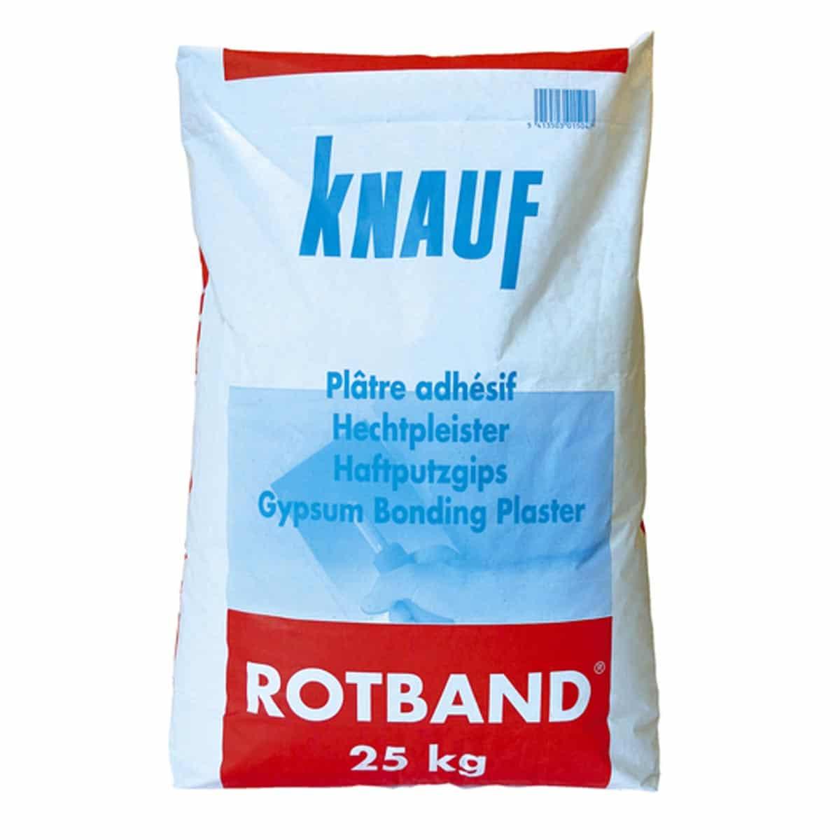 Knauf Roodband Gipspleister 25kg