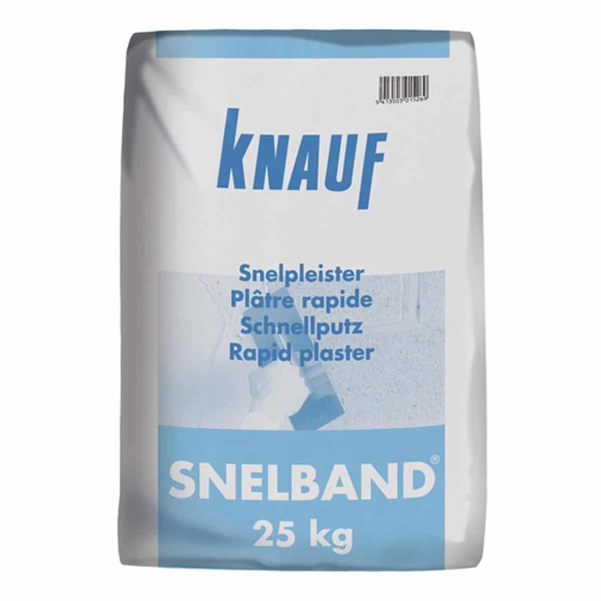 Knauf Snelband Gipspleister 25kg